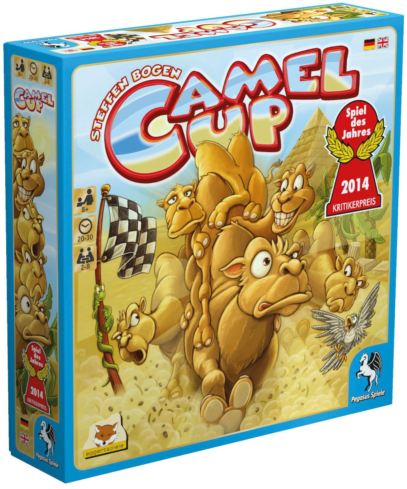 Pegasus Spiele Familienspiel, »Camel Up«