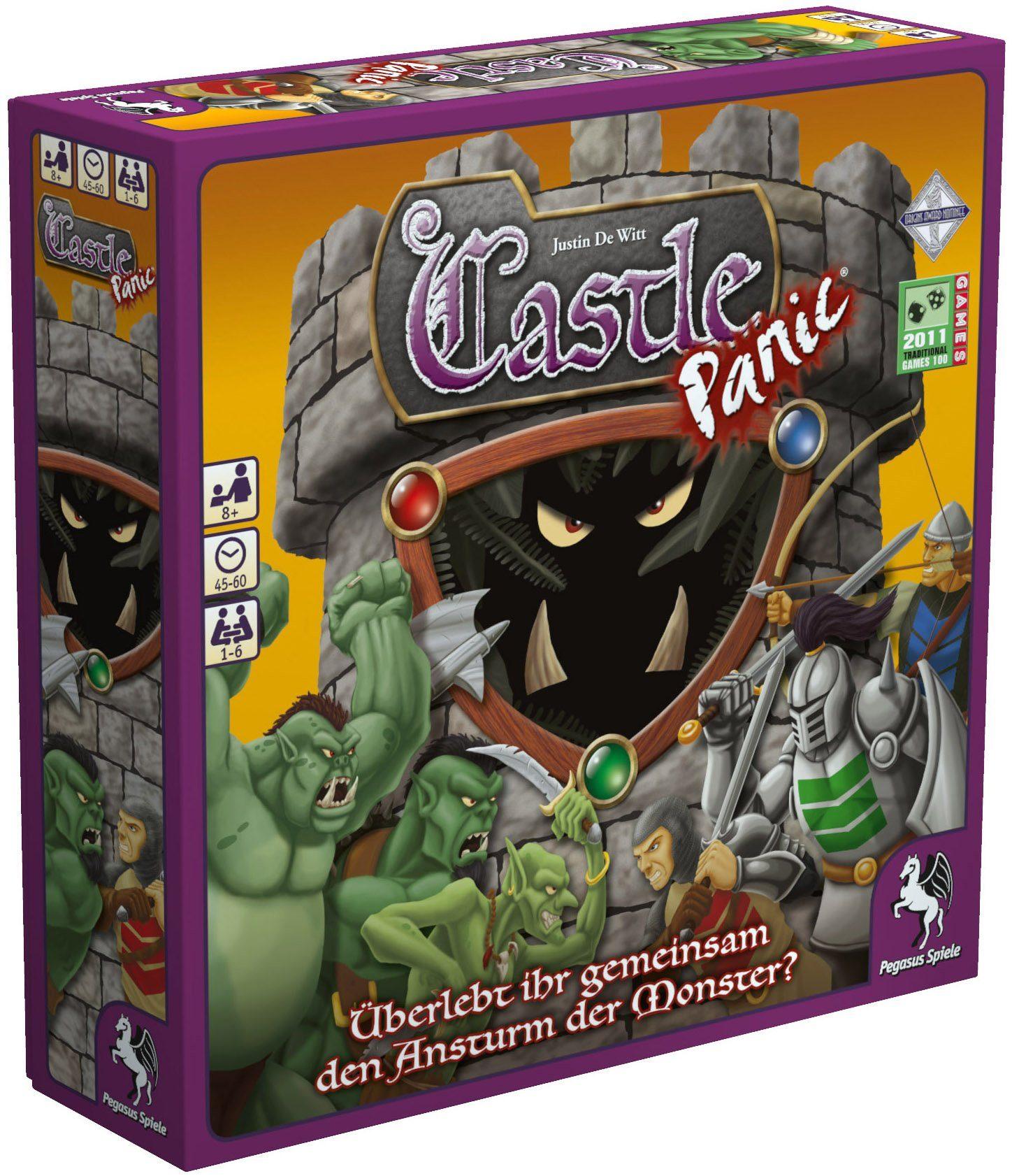 Pegasus Spiele Familienspiel, »Castle Panic«