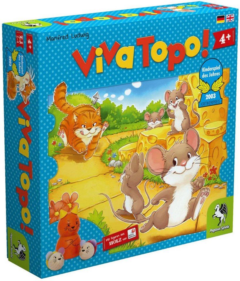 Pegasus Spiele Brettspiel, »Viva Topo«