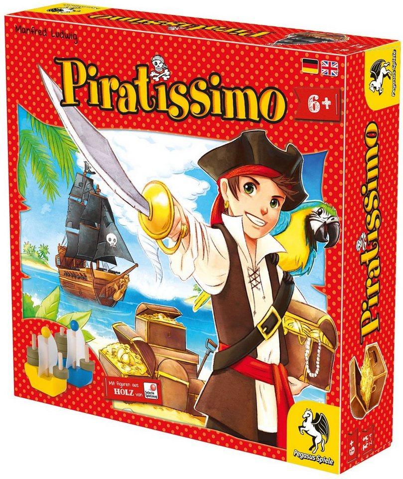 Pegasus Spiele Familienspiel, »Piratissimo«
