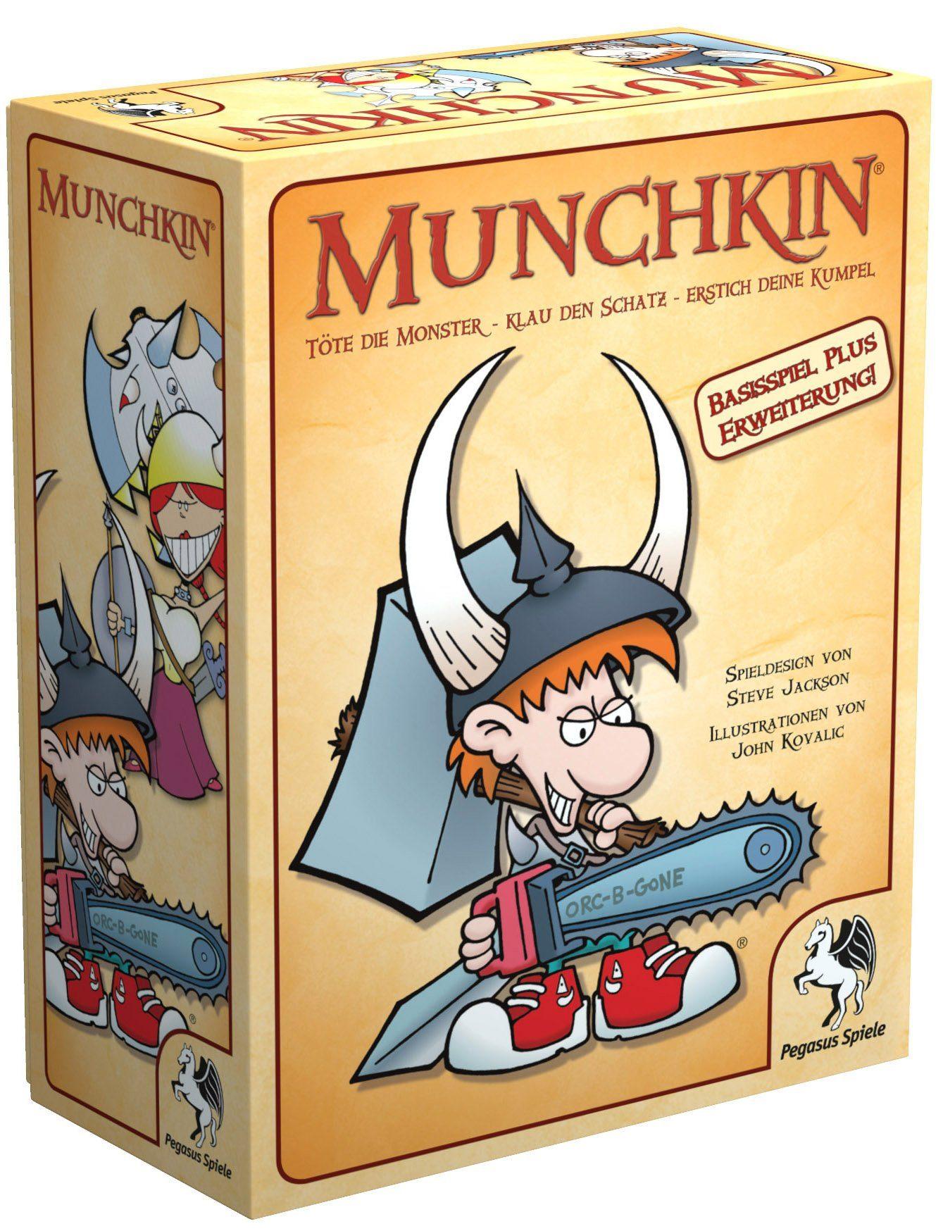 Pegasus Spiele Kartenspiel, »Munchkin Fantasy 1+2«