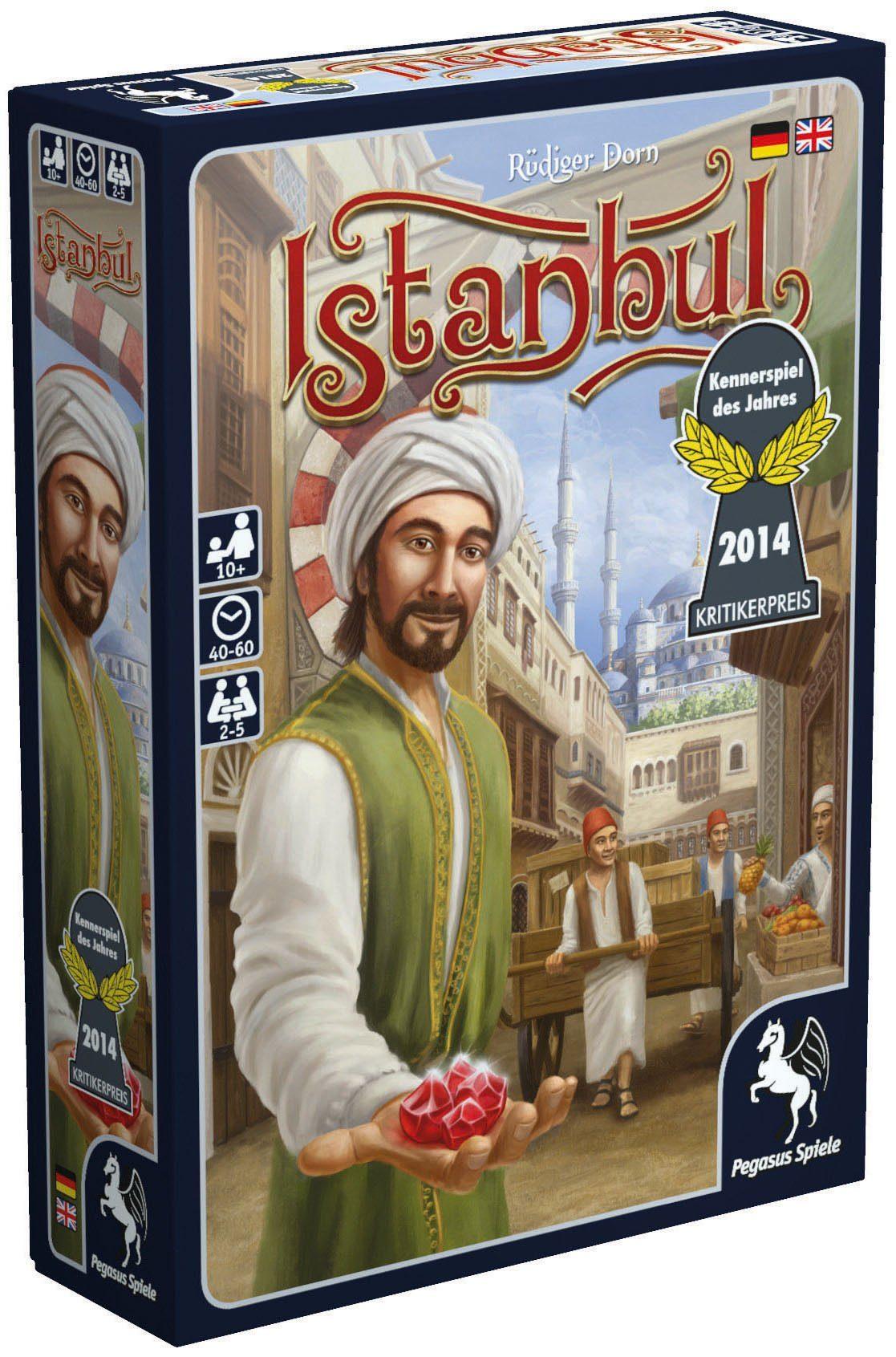 Pegasus Spiele Gesellschaftsspiel, »Istanbul«