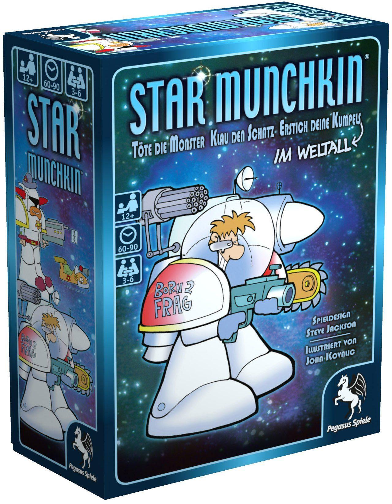 Pegasus Spiele Kartenspiel, »Star Munchkin«