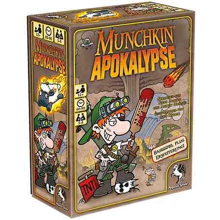 Pegasus Spiele Kartenspiel, »Munchkin Apokalypse«