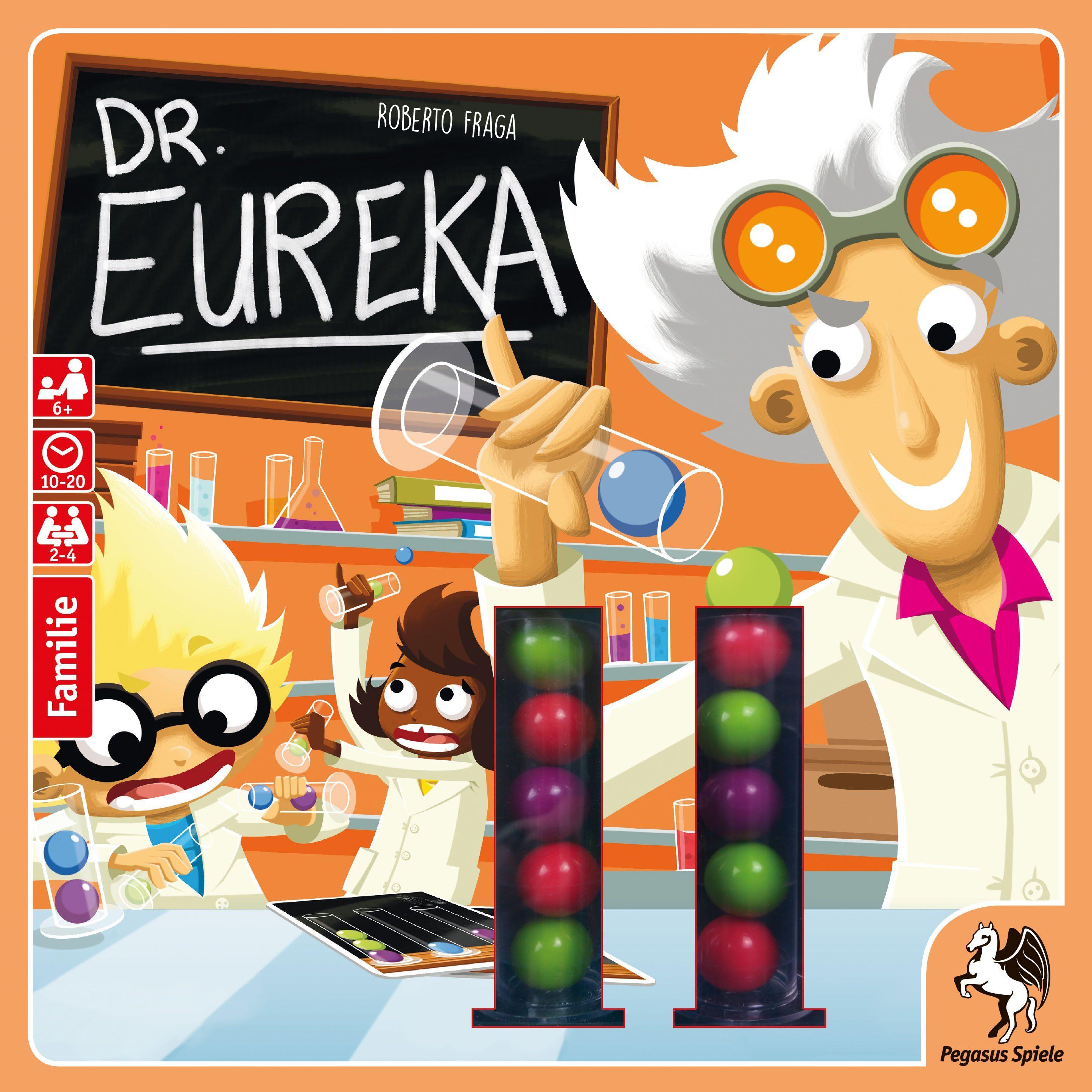 Pegasus Spiele Familienspiel, »Dr. Eureka«