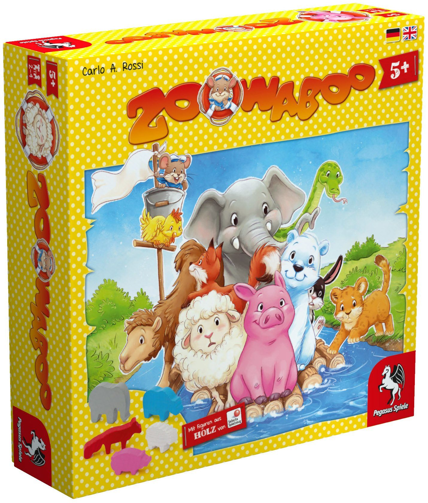 Pegasus Spiele Kinderspiel, »Zoowaboo«