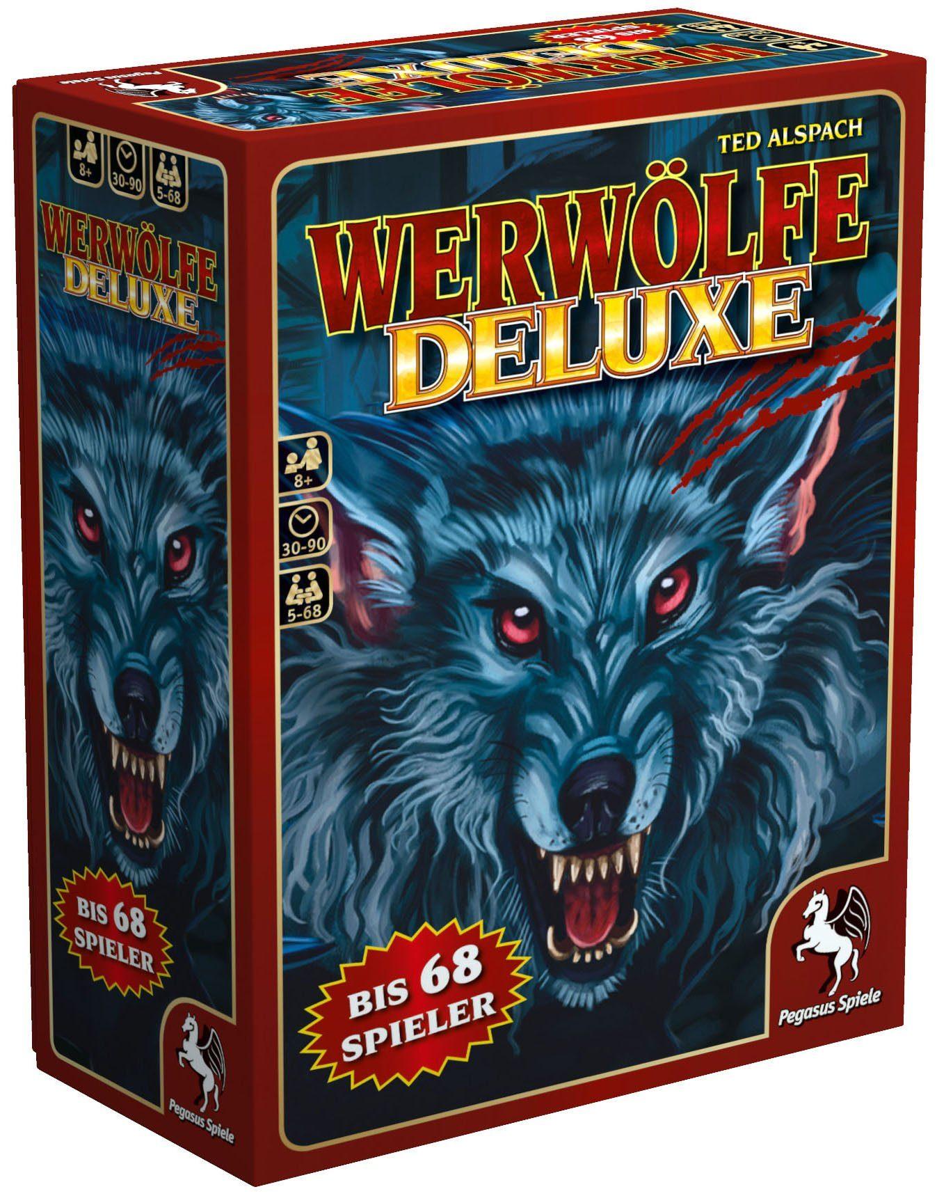 Pegasus Spiele Kartenspiel, »Werwölfe Deluxe «
