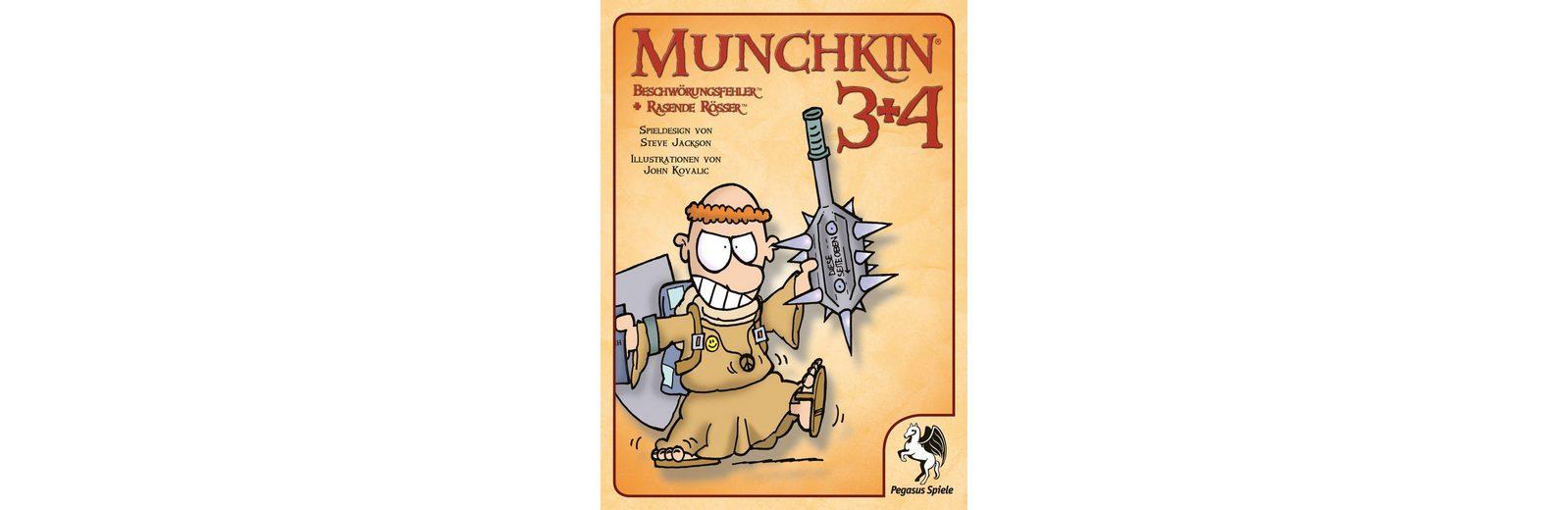 Pegasus Spiele Kartenspiel, »Munchkin 3+4«