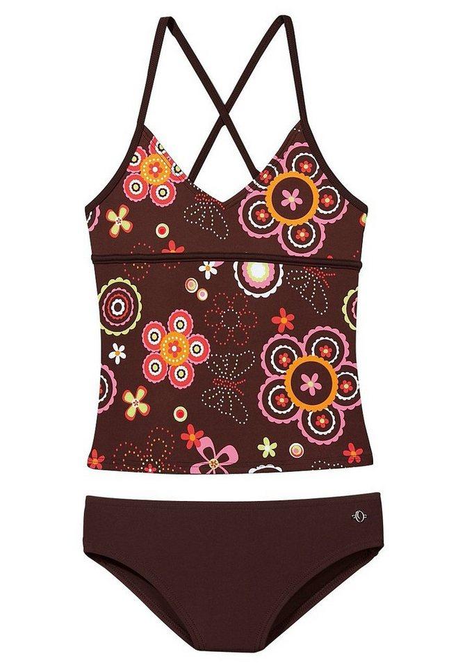 s oliver red label beachwear tankini im verspielten floraldesign online kaufen otto. Black Bedroom Furniture Sets. Home Design Ideas