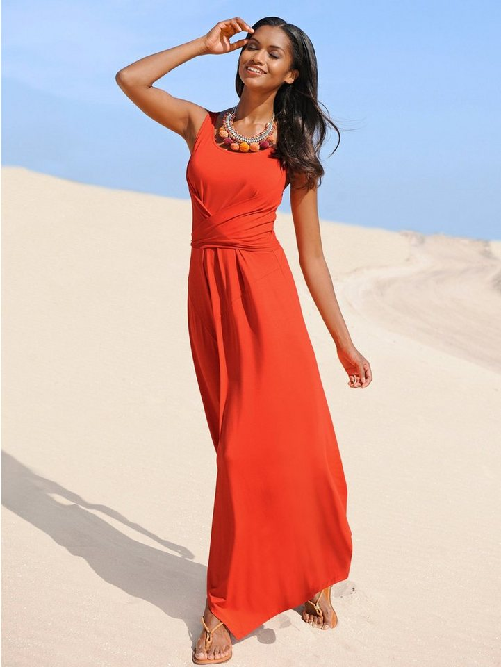 Alba Moda Maxikleid in orange