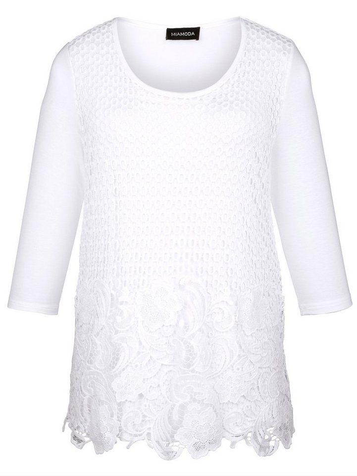 MIAMODA Shirt in offwhite