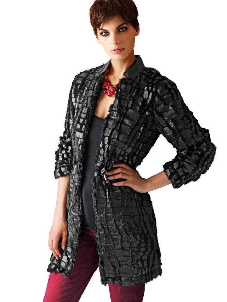 Alba Moda Longblazer in schwarz