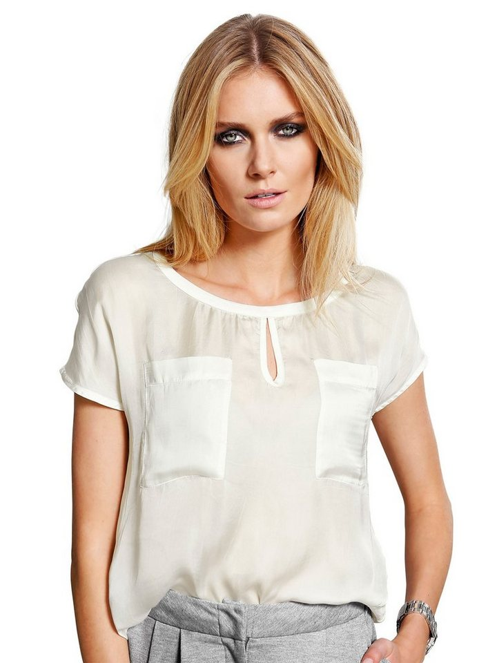 Alba Moda Blusenshirt in offwhite