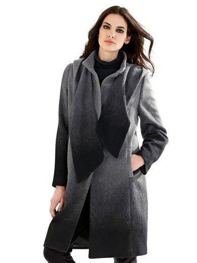 Alba Moda Mantel im Farbverlauf