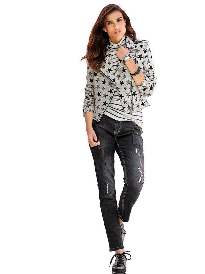 Alba Moda Jeans in blackdenim
