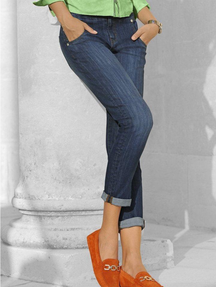 Alba Moda Jeans in stonewashed