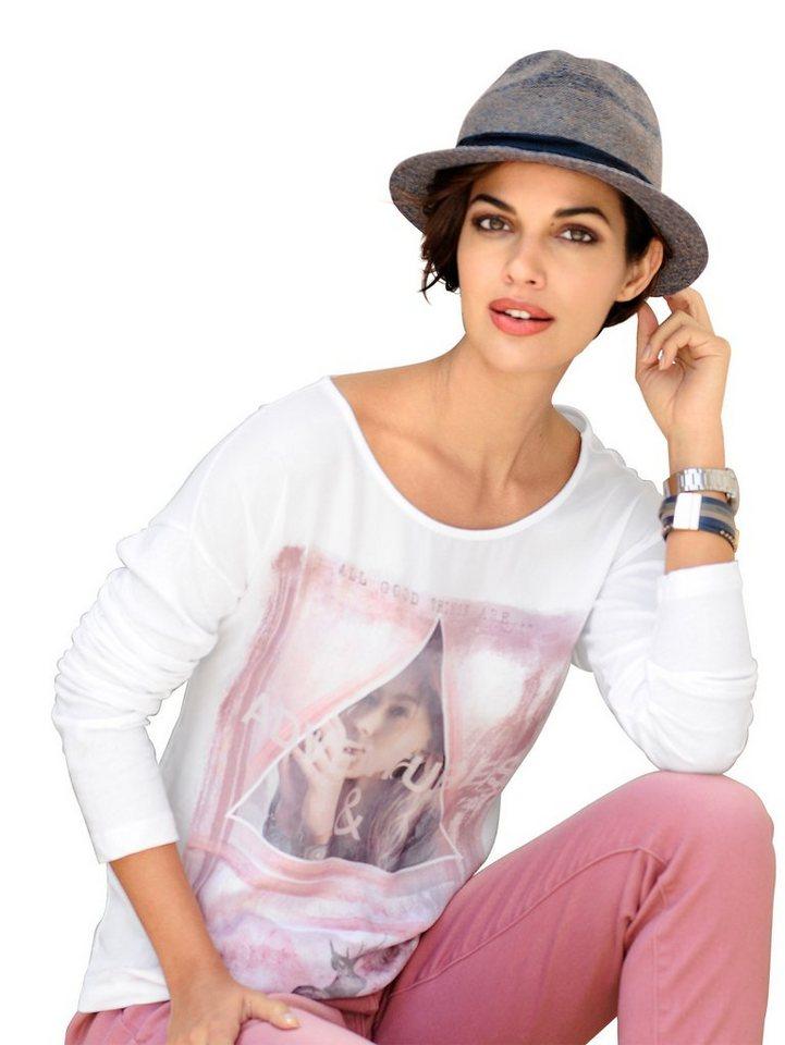 Alba Moda Shirt in offwhitemulti