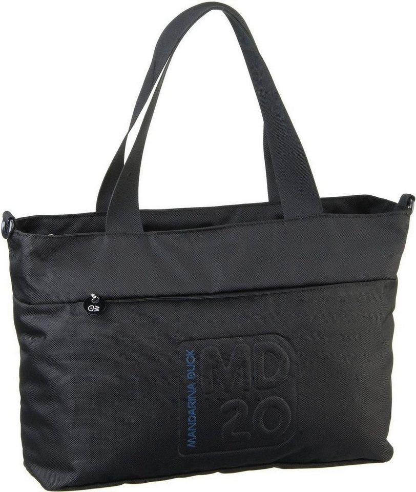 Mandarina Duck MD20 Top Handle Bag TX3 in Black