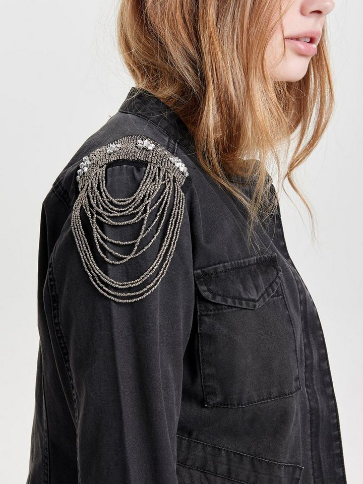 Only Detaillierte Jacke in Black