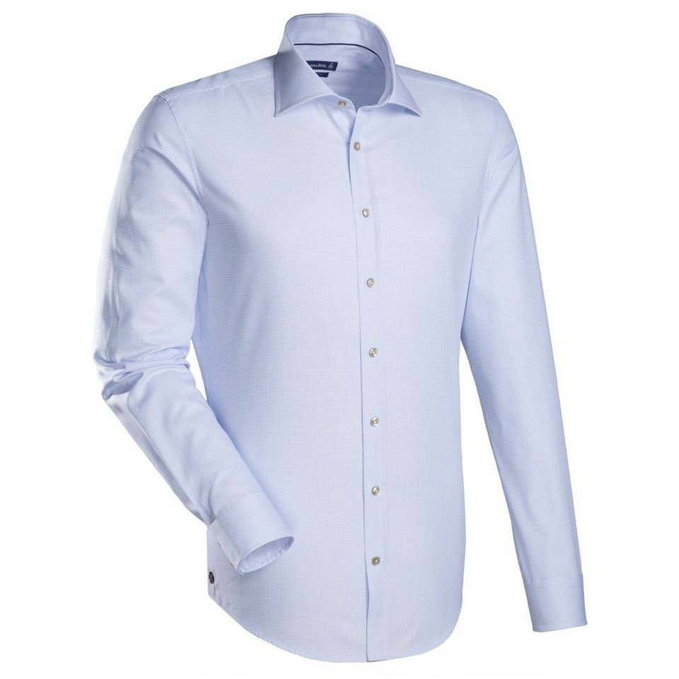 Jacques Britt Businesshemd »Blue Label« in hellblau