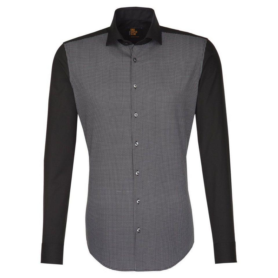 SEIDENSTICKER Businesshemd »Slim« in schwarz