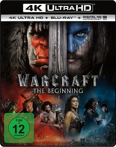 Blu-ray »Warcraft: The Beginning (4K Ultra HD)«