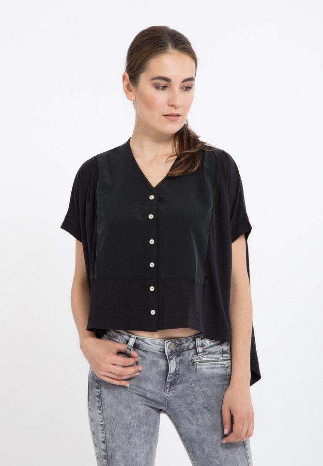 Mexx Oversize-Shirt in schwarz