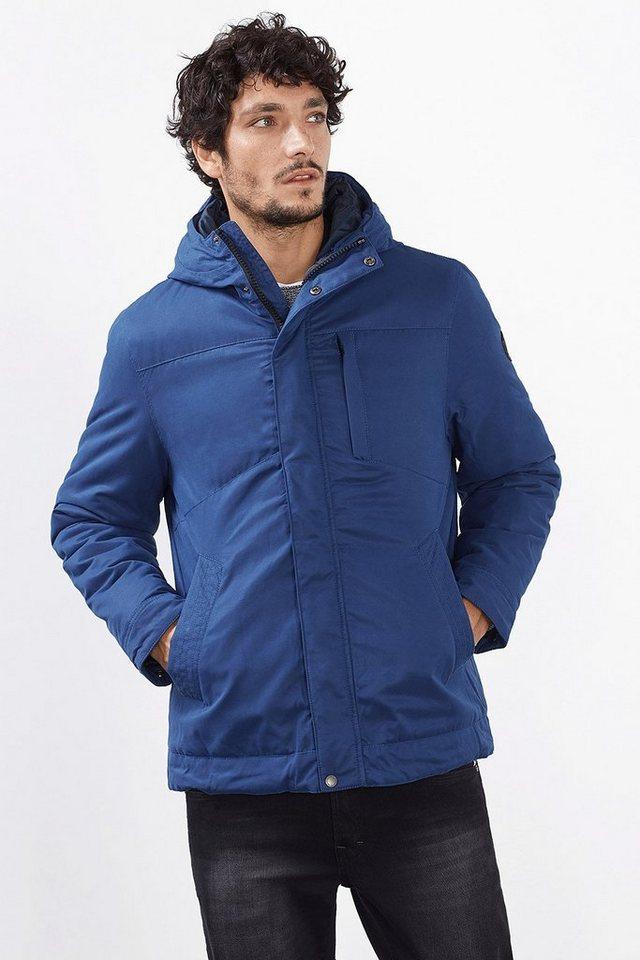 EDC 2in1: Wattierte Jacke mit Steppjacke in BRIGHT BLUE