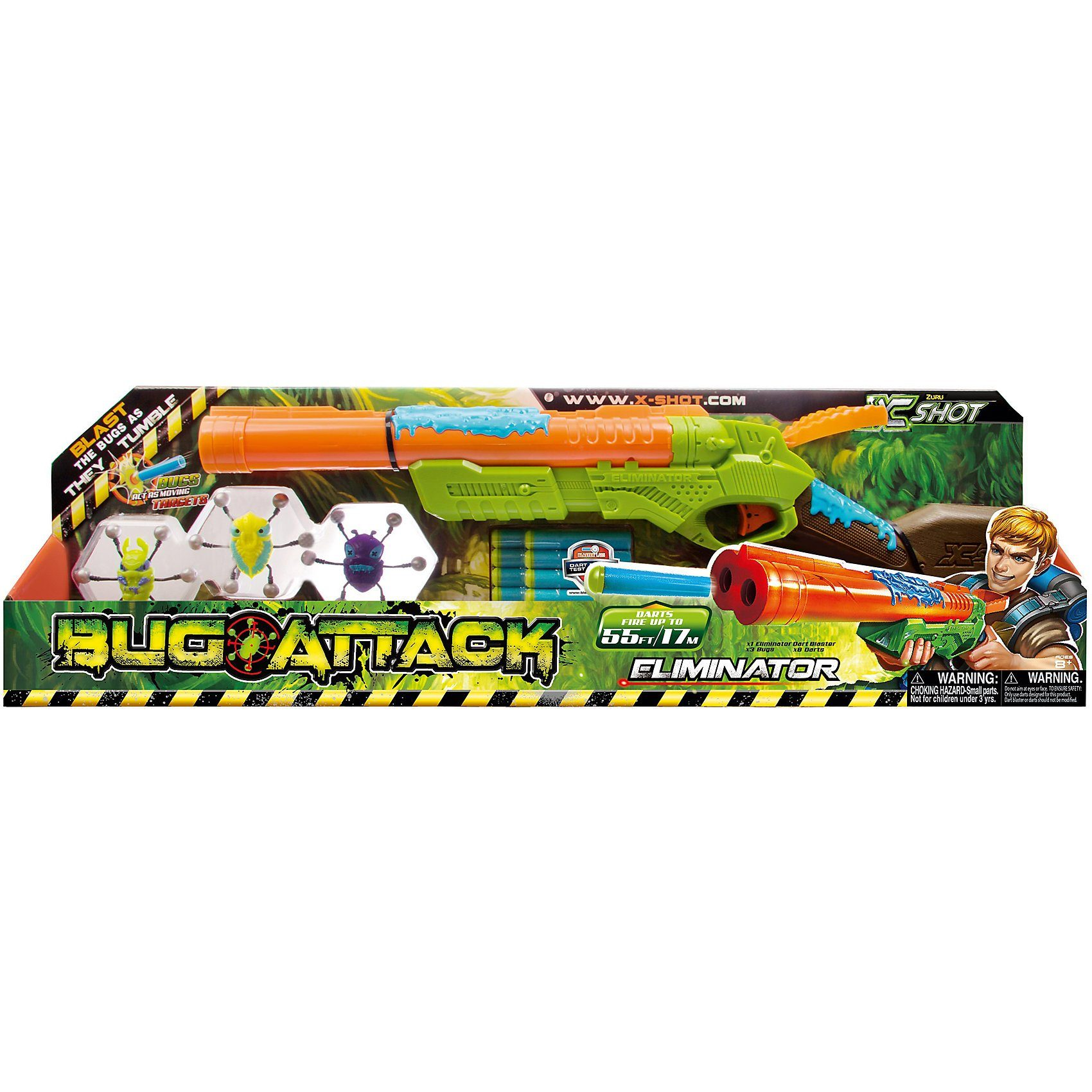 Zuru X-Shot Bug Attack - Eliminator