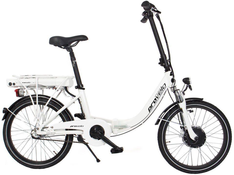 Elektro-Faltrad, 20 Zoll, Shimano Nexus 3-Gang, 36V/250W, »NEX 320«, ProVelo by Sportplus