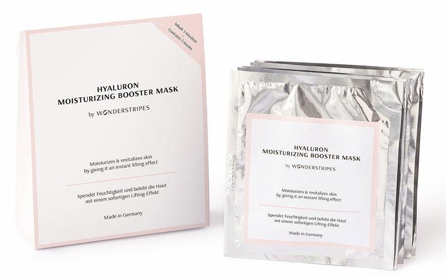 Wonderstripes, »Hyaluron-Gesichtsmaske«, Anti-Aging Gesichtsmaske mit Lifting-Effekt