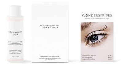 WONDERSTRIPES Augenlid-Tape »Starter-Set«, 5-tlg., Augenlid-Korrektur Pflaster in 3 Größen & Erfrischendes Tonic