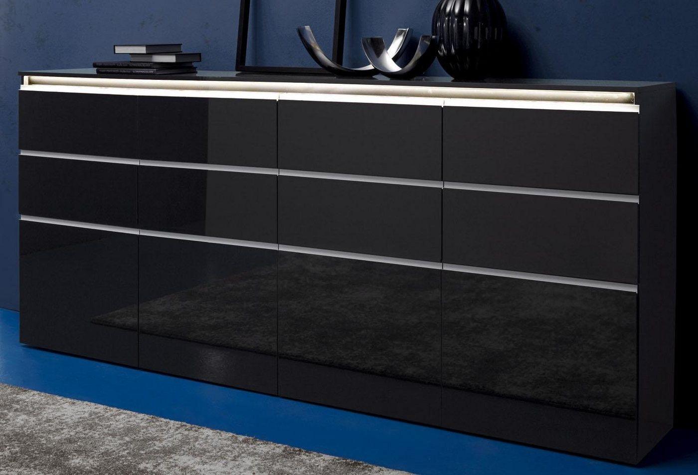 highboard beton optik machen sie den preisvergleich bei nextag. Black Bedroom Furniture Sets. Home Design Ideas