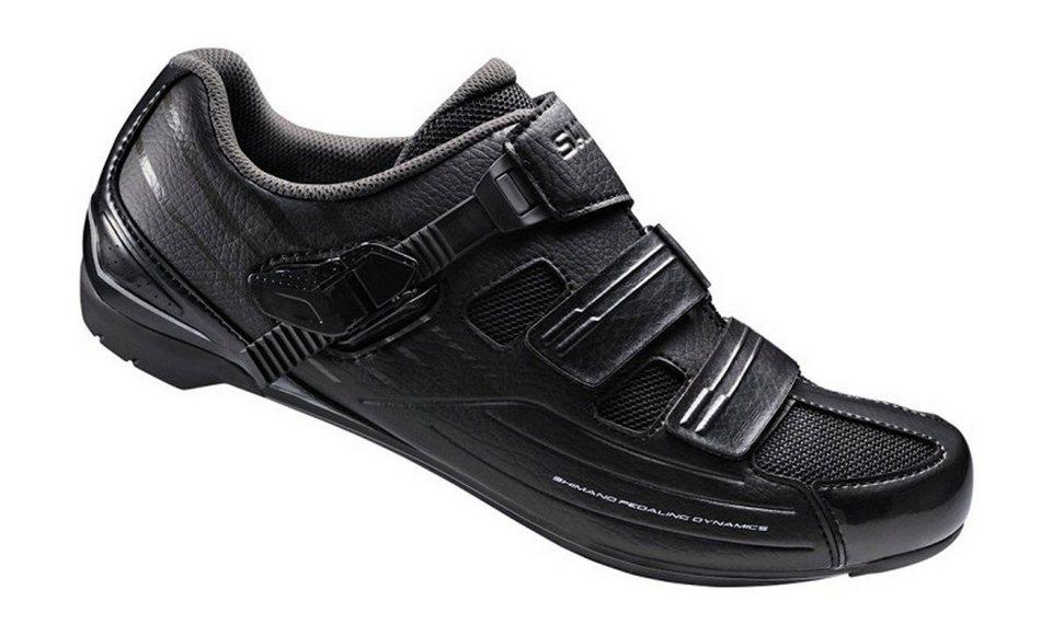 Shimano Fahrradschuhe »SH-RP3L Schuhe breit Unisex« in schwarz