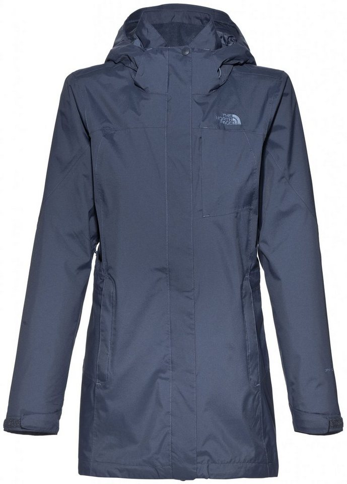 The North Face Outdoorjacke »Solaris Triclimate Parka Women« in blau