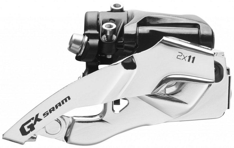 SRAM Schaltung »GX Umwerfer 2x11-fach Low Clamp Top Pull«