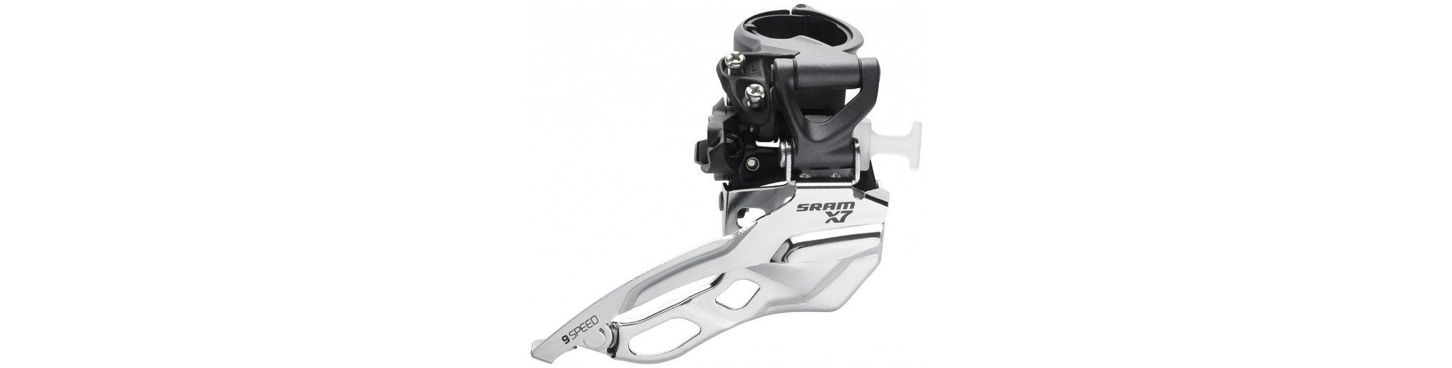 SRAM Schaltung »X7 Umwerfer 3x9 fach High Clamp Top Pull«