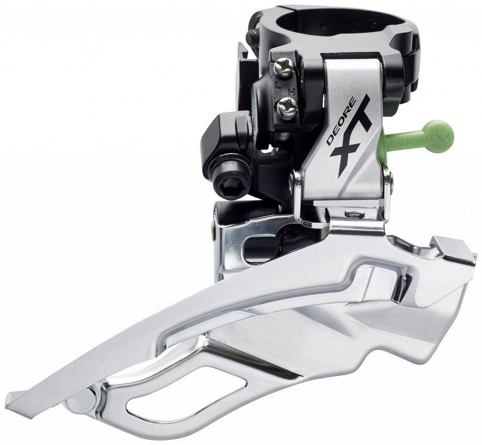 Shimano Schaltung »Deore XT FD-T781 Umwerfer Trekking 3x10-fach«