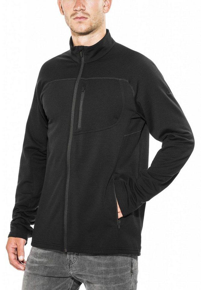 Icebreaker Pullover »Mt Elliot LS Zip Shirt Men« in schwarz