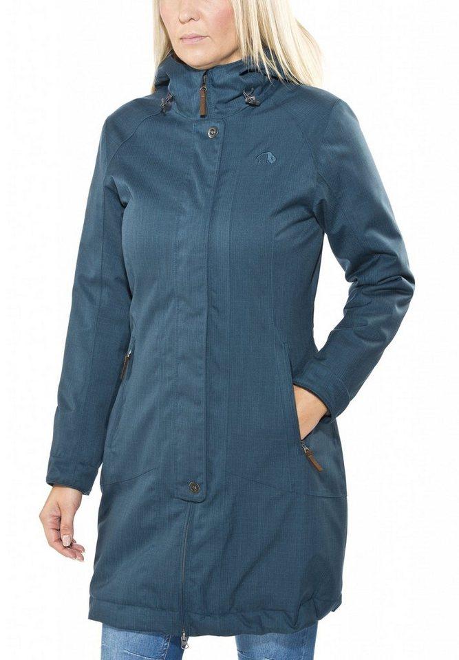 Tatonka Outdoorjacke »Floy Coat Women« in blau