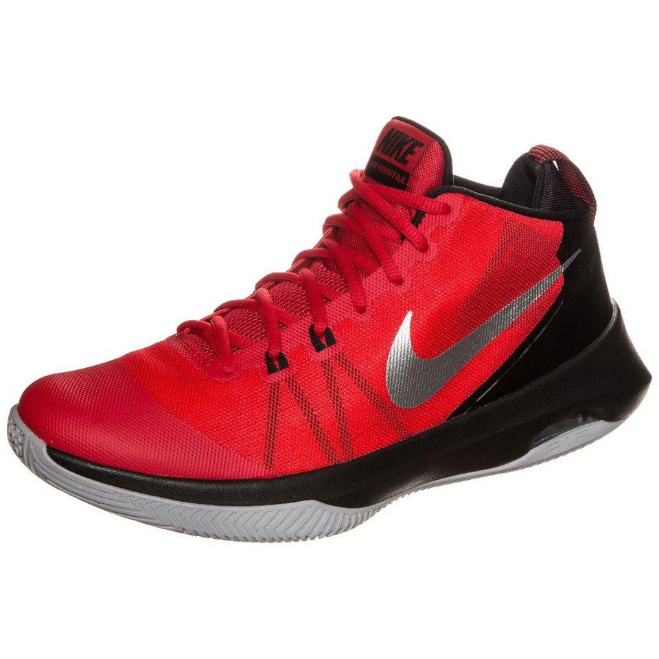 NIKE Air Versitile Basketballschuh Herren in rot / schwarz