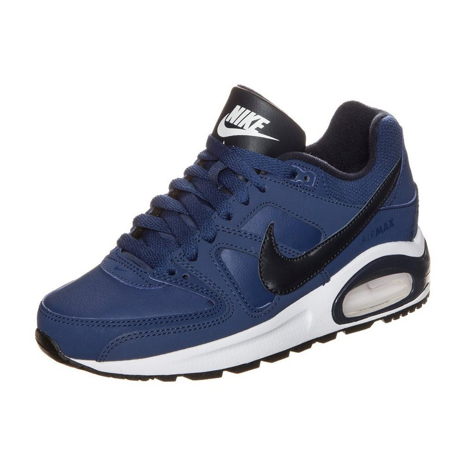 Nike Sportswear Air Max Command Flex Leather Sneaker Kinder in blau / schwarz / wei