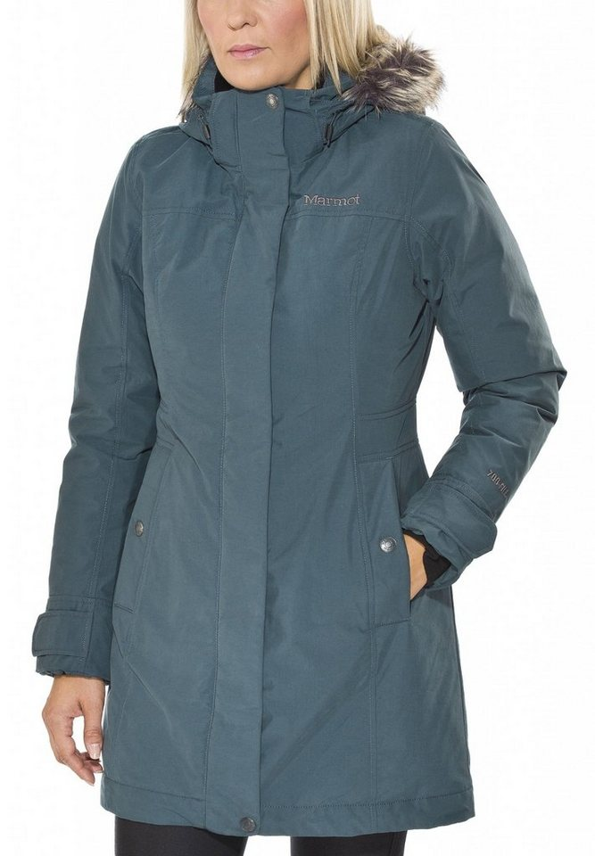Marmot Outdoorjacke »Waterbury Jacket Women« in blau