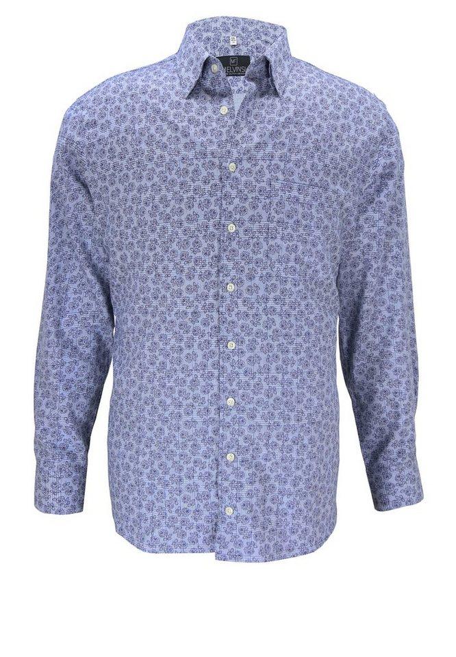melvinsi fashion Oberhemd in Blau