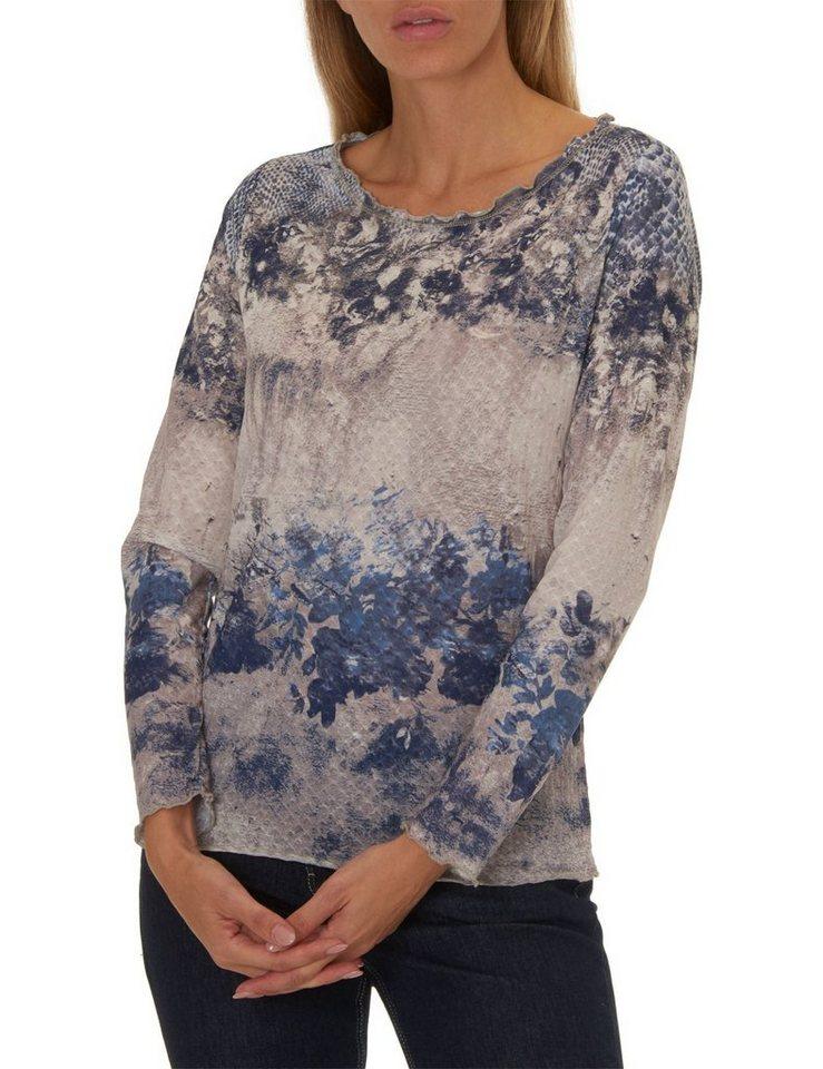 Betty Barclay Shirt in Blau/Beige - Blau