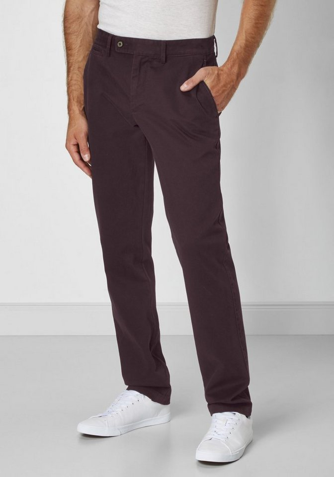 Redpoint Stretch Chino »Milton« in plum