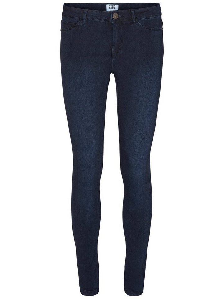 Vero Moda Flex-It NW Jeggings in Dark Blue Denim