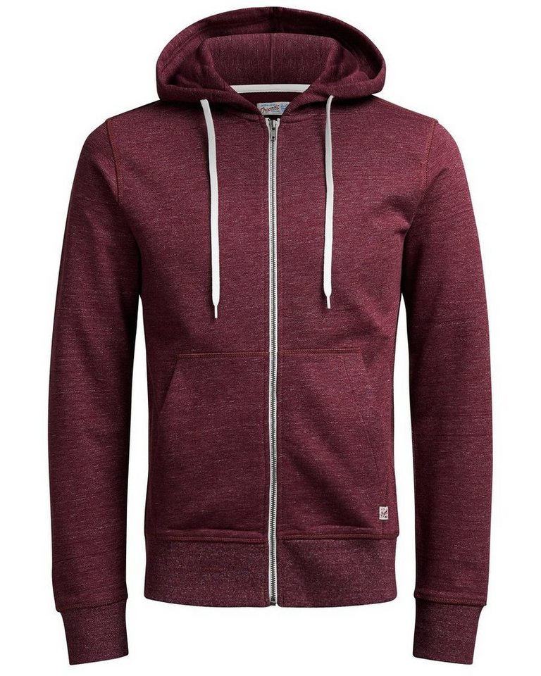Jack & Jones Lässiges Sweatshirt mit Reißverschluss in Port Royale