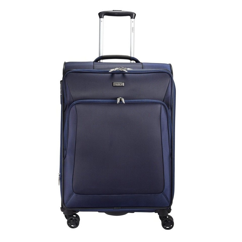 Stratic Slight Trolley 4-Rollen 66 cm in navy