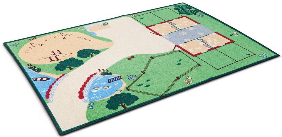 Schleich® Spielteppich, »Farm World, Spielteppich«